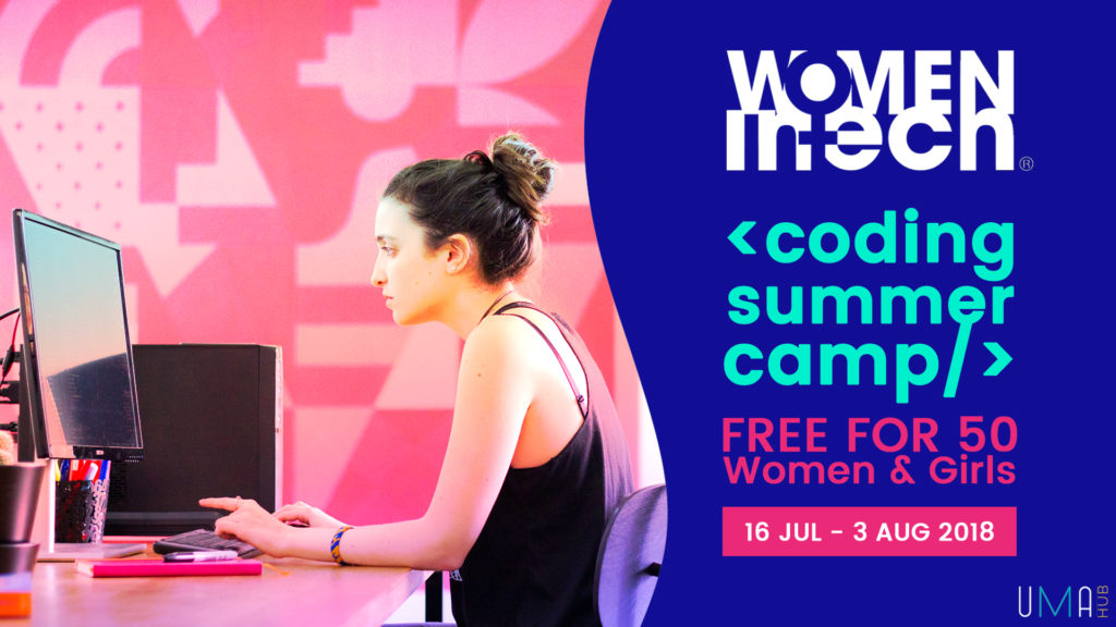 Coding Summer Camp for women and girls