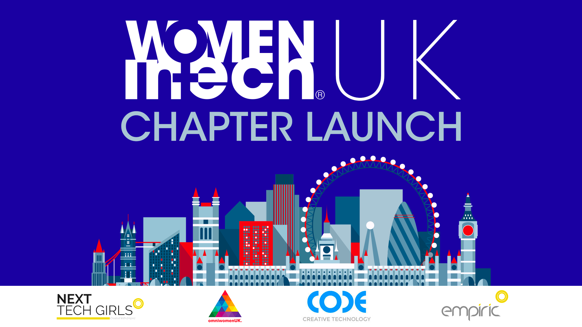 Women In Tech UK Chapter launch | London, UK
