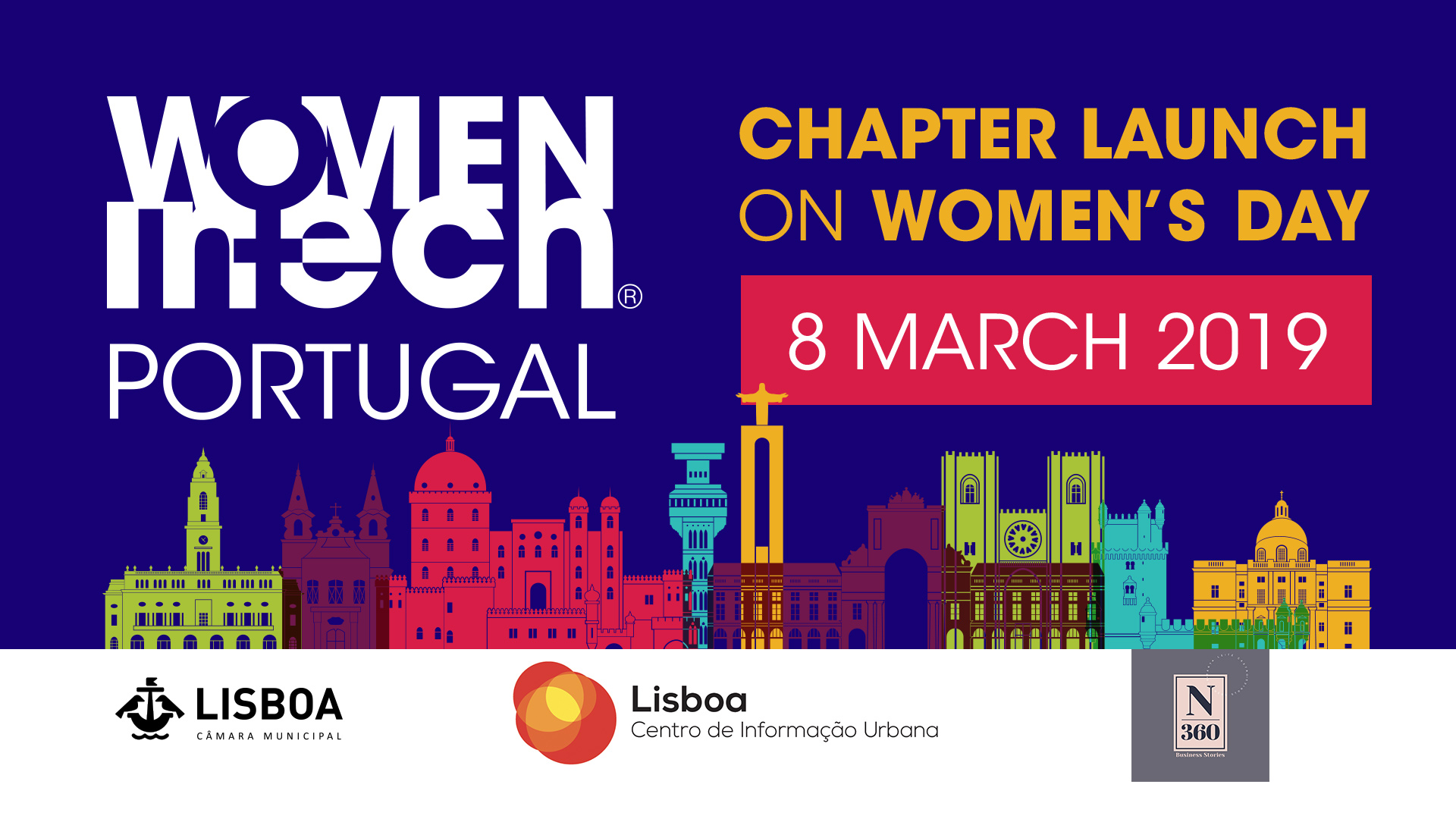 Women In Tech Portuguese Chapter launch | Lisbon, Portugal