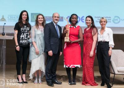 Entrepreneurship Award to Zimba Women, Uganda.