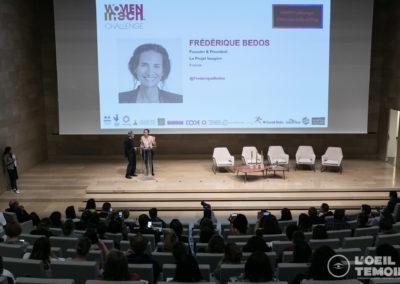 Frédérique Bedos, Founder & President Le Projet Imagine, France