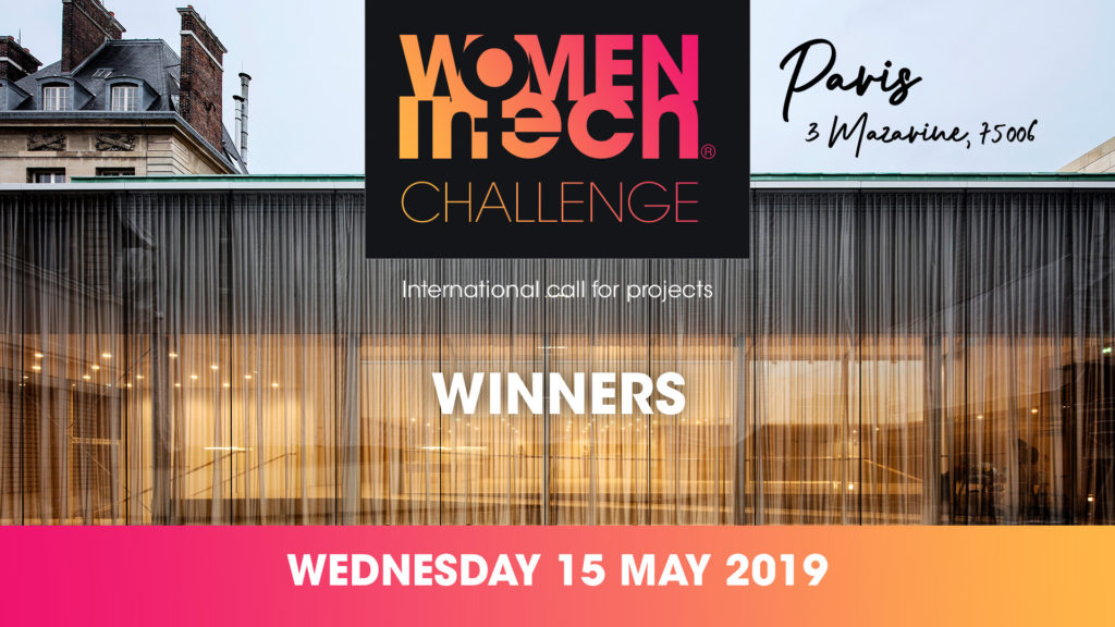 WOMEN IN TECH CHALLENGE WINNERS