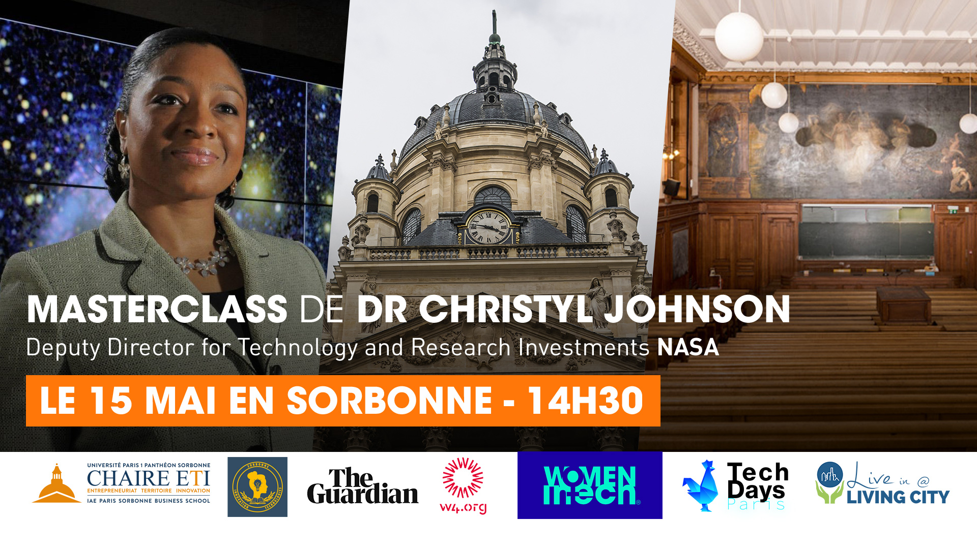 Masterclass by Dr. Christyl Johnson | Paris, France