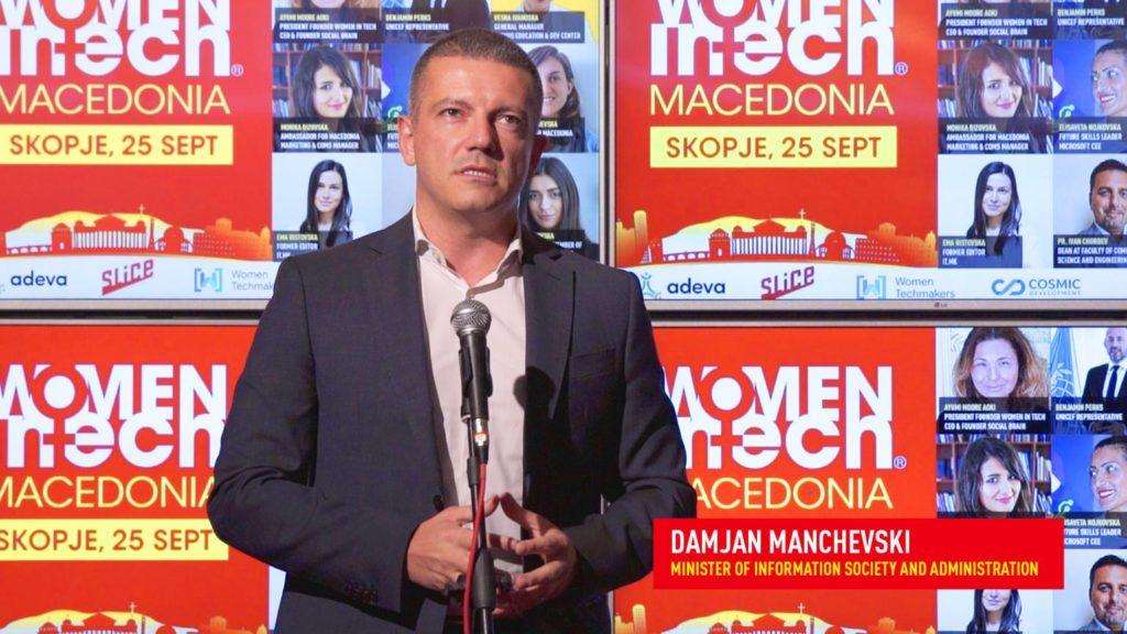 Opening speech of Minister Damjan Mancevski