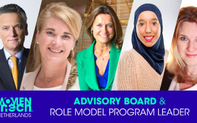 Our New Advisory board of Women in Tech Netherlands