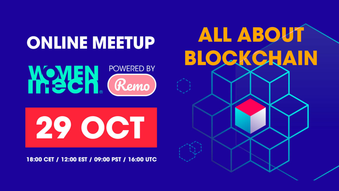 Online meet up: All about blockchain   29 October 2019