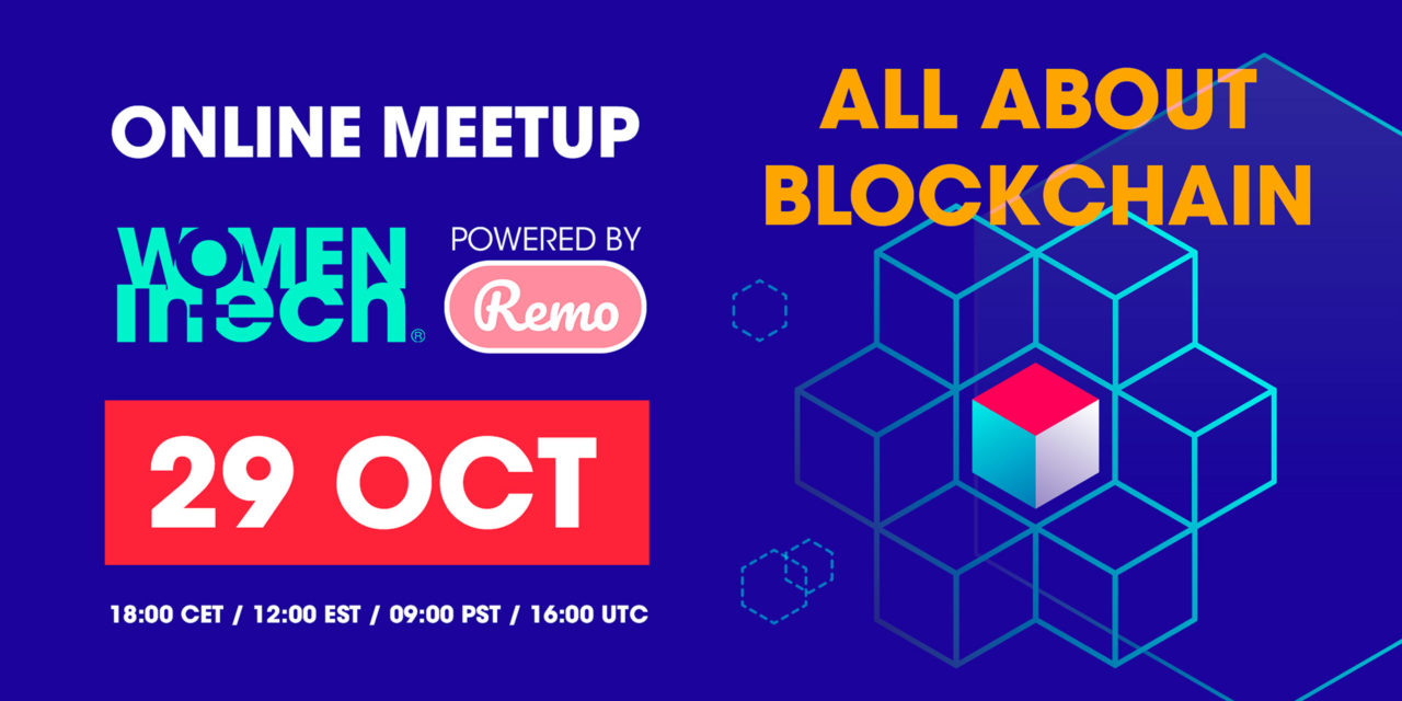 Online meet up: All about blockchain | 29 October 2019