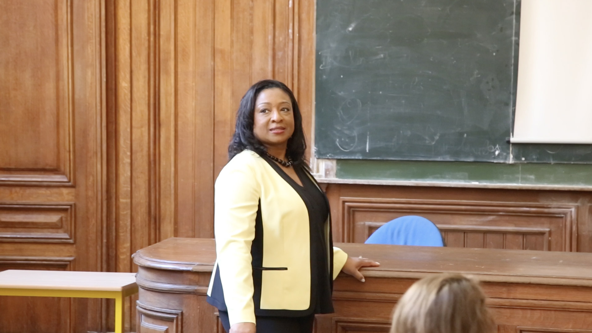 Master Class by Dr. Christyl Johnson at the Sorbonne | Paris, France
