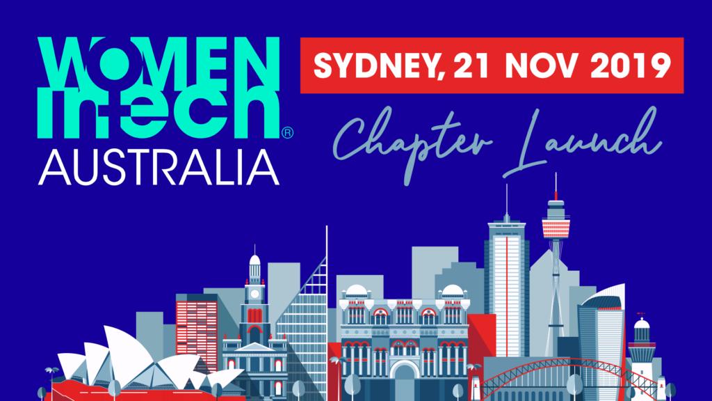 Women in Tech Australian Chapter launch   Sydney, 21 Nov 2019