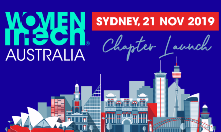 Women in Tech Australian Chapter launch | Sydney, 21 Nov 2019