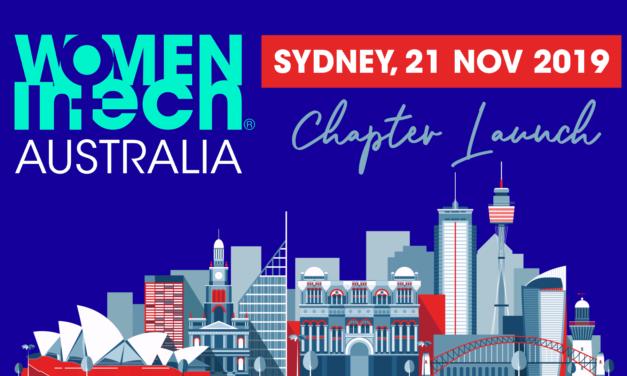 Women in Tech Australian Chapter launch | Sydney, 21 Nov 2019