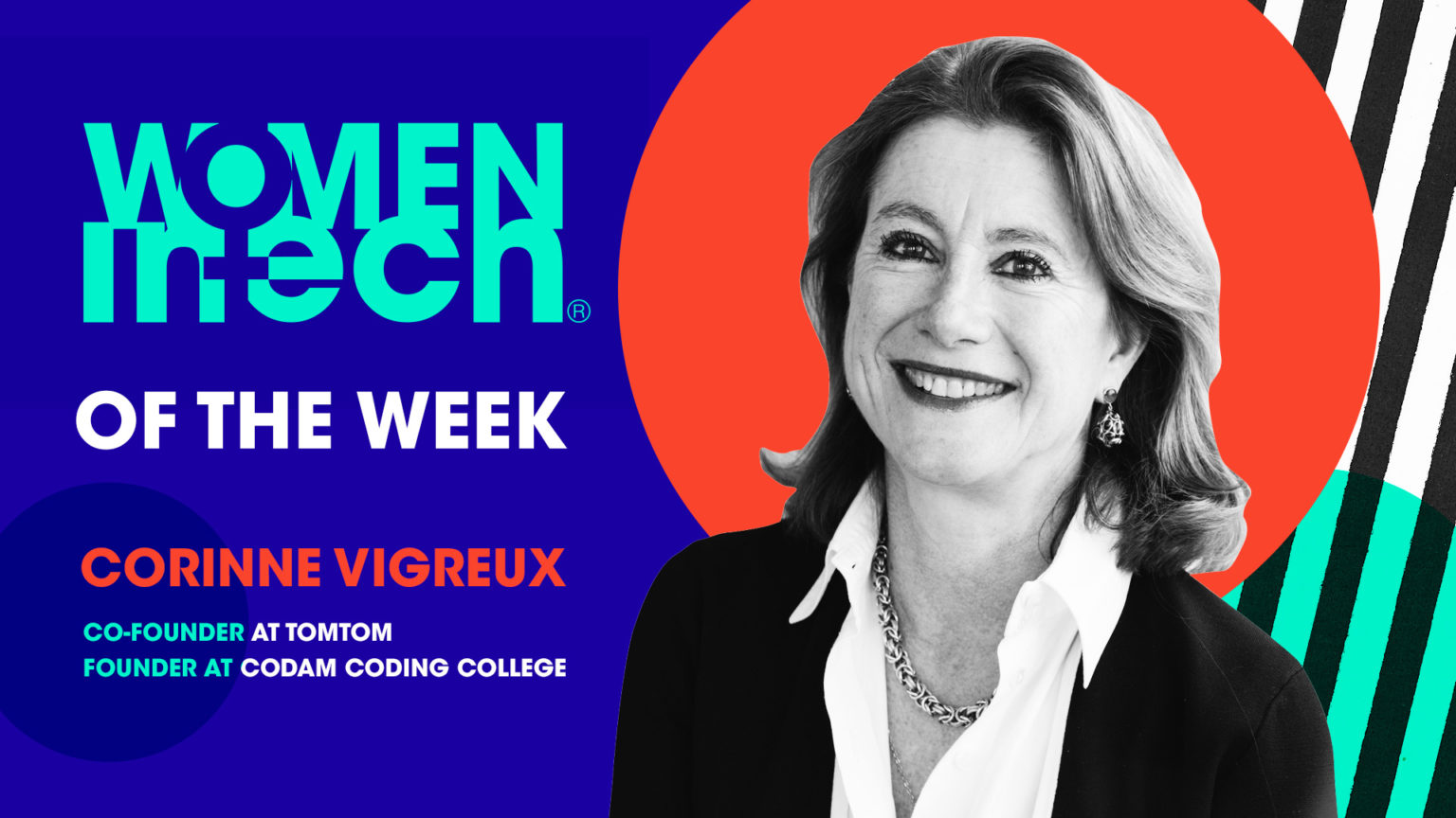 Corinne Vigreux – Women in Tech of the Week