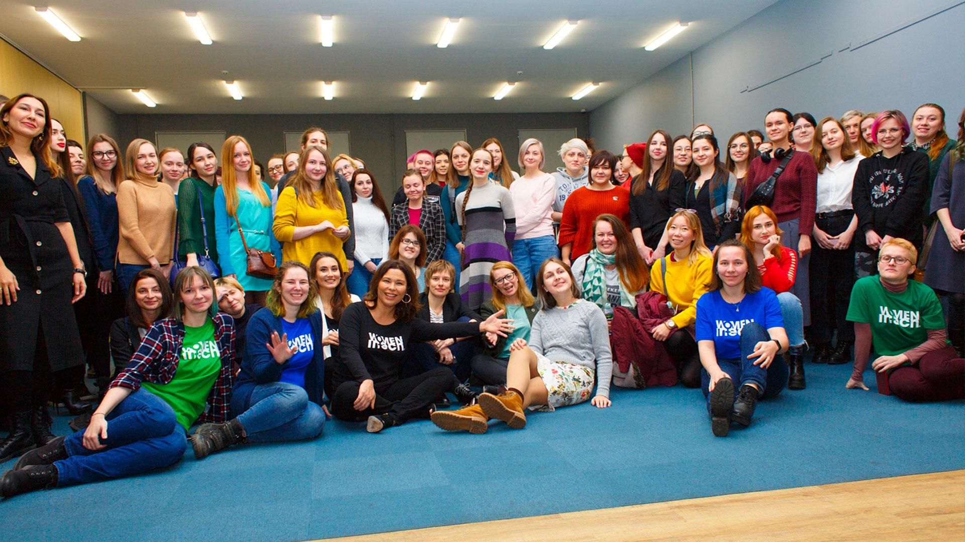 Women in Tech Russia Chapter launch | Saint-Petersburg, 12 December 2020