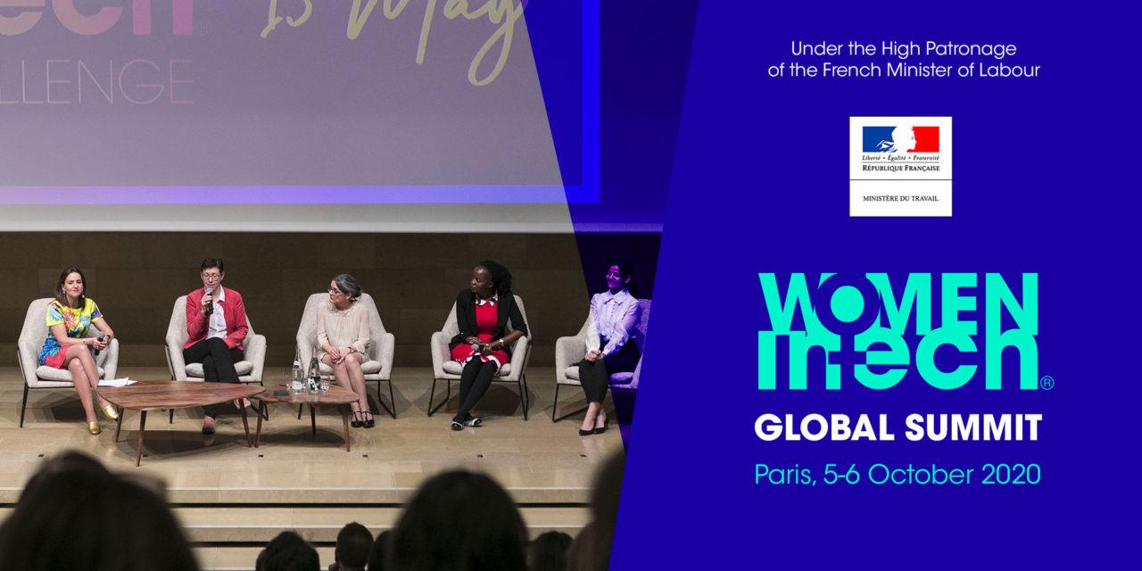 Women in Tech Global Summit in Paris, 5-6 October 2020