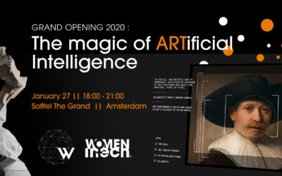 The Magic of ARTificial Intelligence| Amsterdam, 27 January 2020