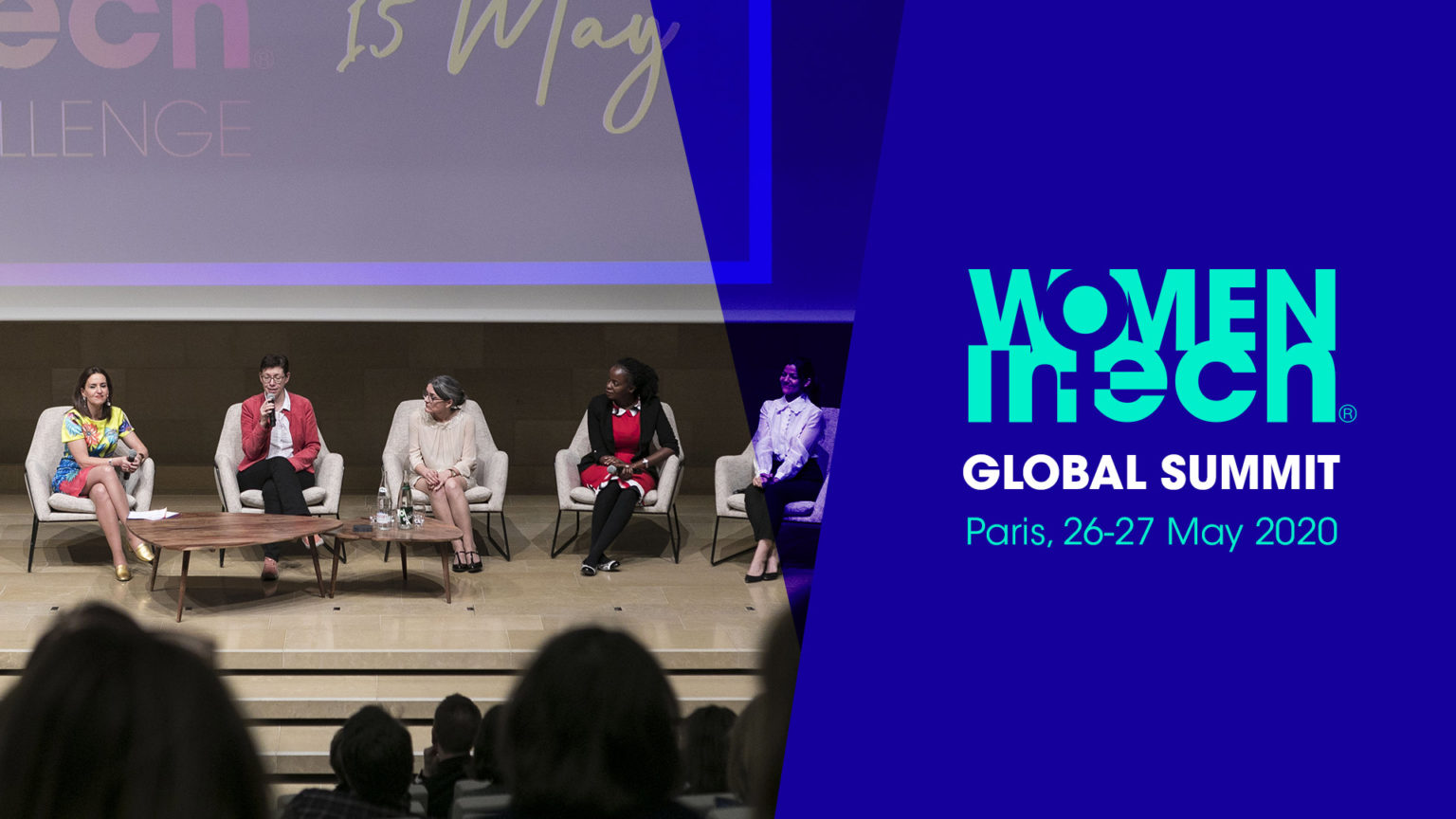 Women in Tech Global Summit in Paris on the 26 and 27 May 2020
