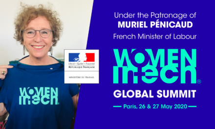 Marrainage by French Minister of Labour, Muriel Penicaud