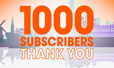 More than 1,000 THANK YOU's to all our followers!