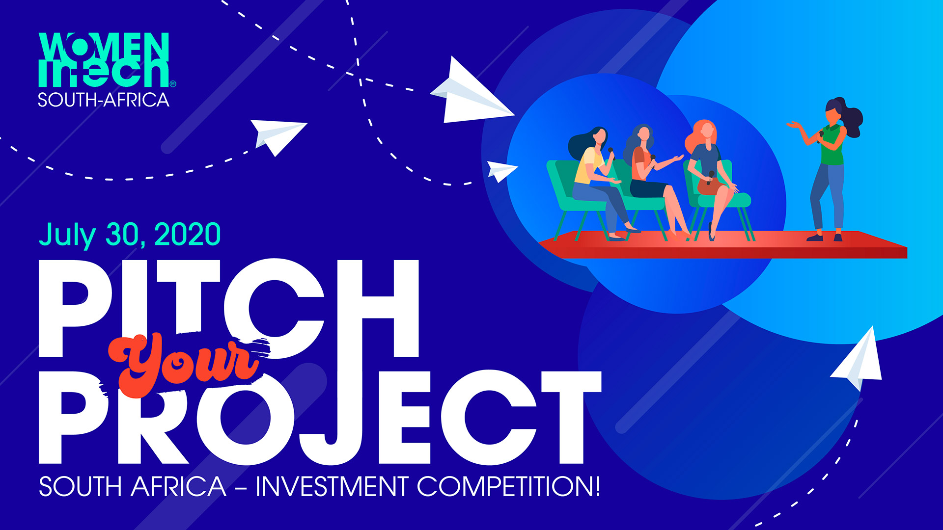 Pitch your Project South Africa – Investment competition!