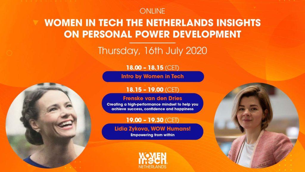 Women in Tech Insight Series: Personal Power Development