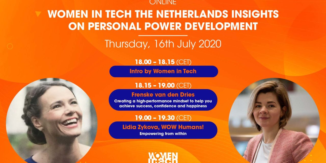 Women in Tech Insight Series: Personal Power Development