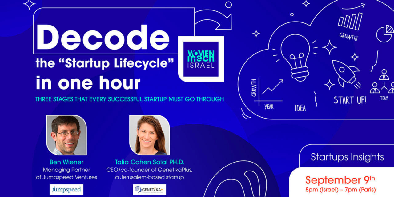 "Decode the ""Startup Lifecycle"" in one hour."