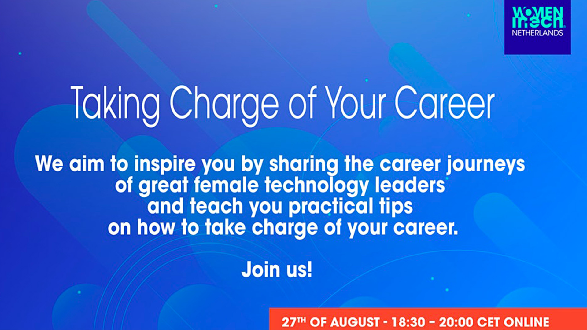 Taking Charge of Your Career!