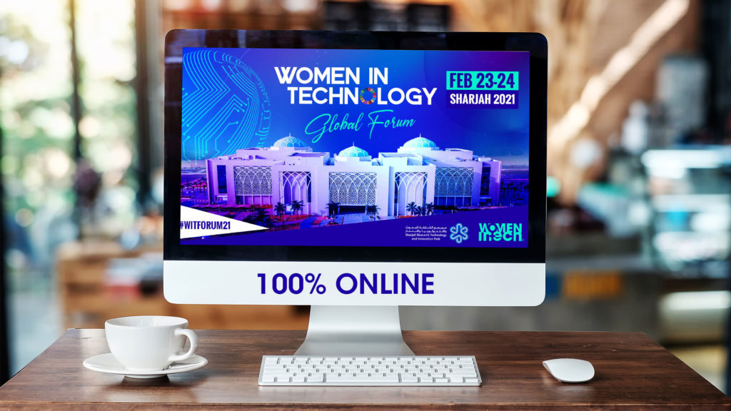 The Women in Technology Global Forum is going 100% digital ❗️