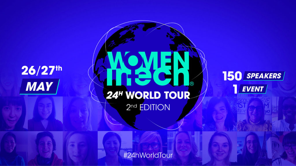 2nd edition of the Women in Tech 24hr World Tour