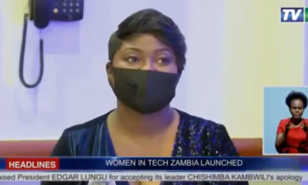 TV 1 coverage of The Women in Tech Zambia launch