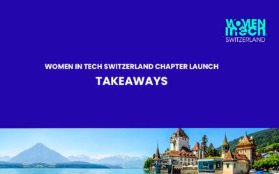 WIT Switzerland chapter launch takeaways
