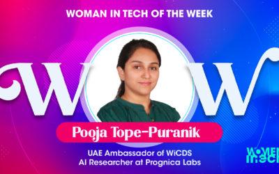 Meet Pooja Tope-Puranik