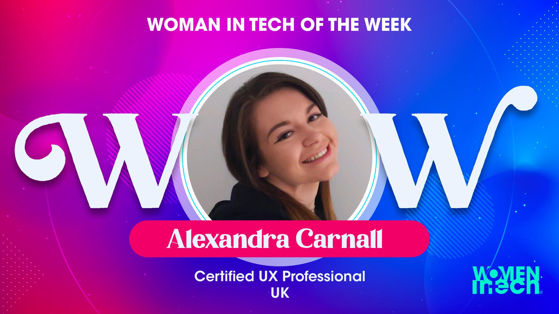 Meet Alexandra Carnall