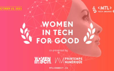 Compete for Women in Tech for Good – MTL Tech awards 🏆